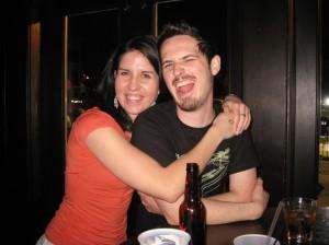 with my rockstar Irishman
