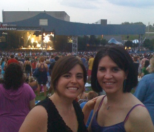 me and liz at dmb