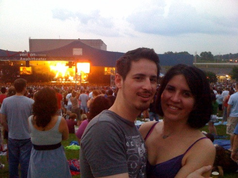 tim and lea at dmb
